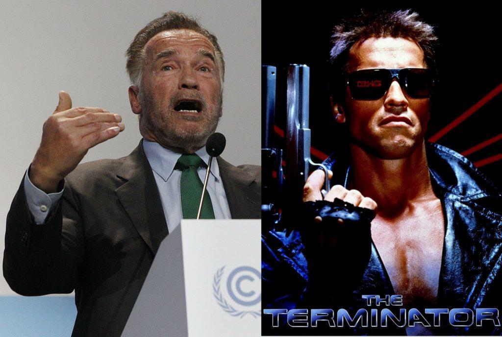 Arnold Schwarzenegger 2018 vs 1984