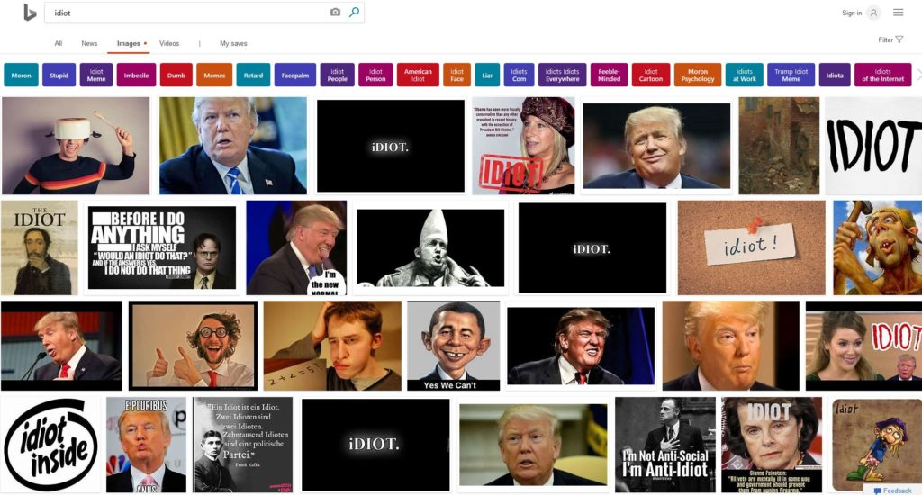 Bing Search Idiot Images 12 Dec 2018