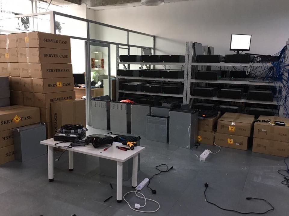 Bitcoin Servers and Spare parts