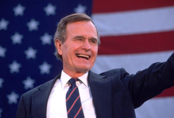 George HW Bush died age 94