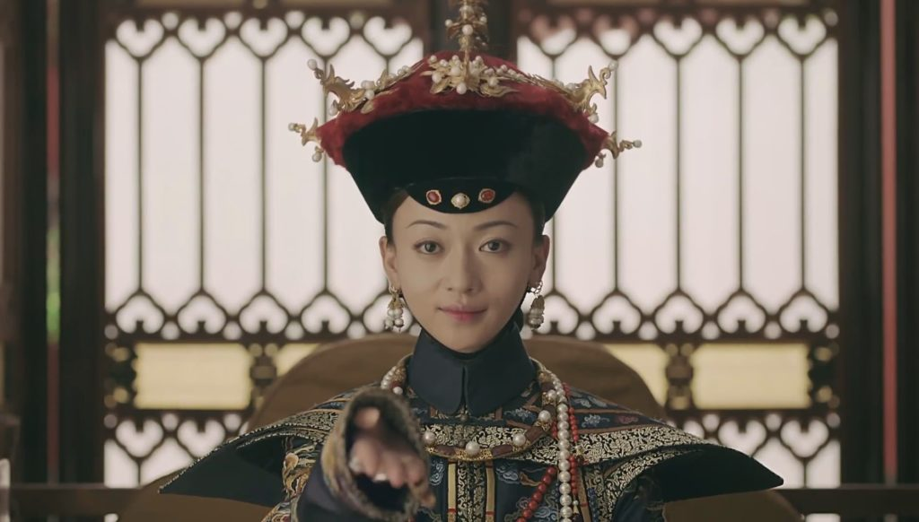 Imperial Noble Consort Wei Yingluo at the end of Story of Yanxi Palace