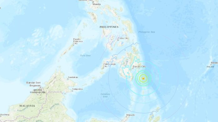 6.9 magnitude earthquake strikes southern Philippines - Tsunami warning withdrawn