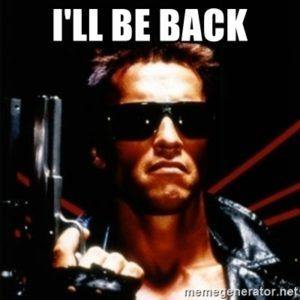 i'll be back