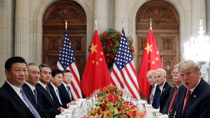 US China G20 Summit in Buenos Aires