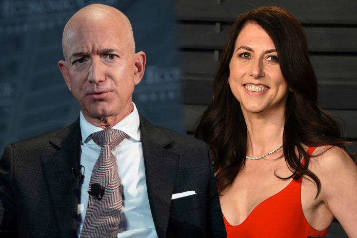 Amazon CEO Jeff Bezos and his wife announced divorce