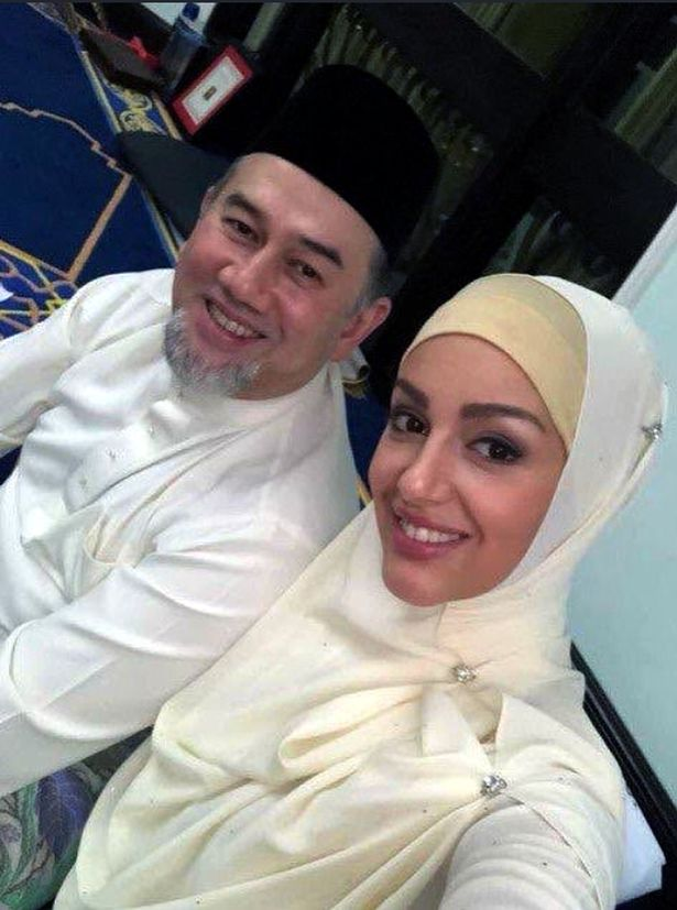 Malaysian king's new wife is expecting baby after abdication announced