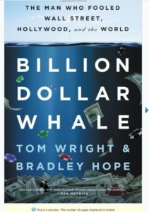 Billion Dollar Whale Book preview 1 - book cover