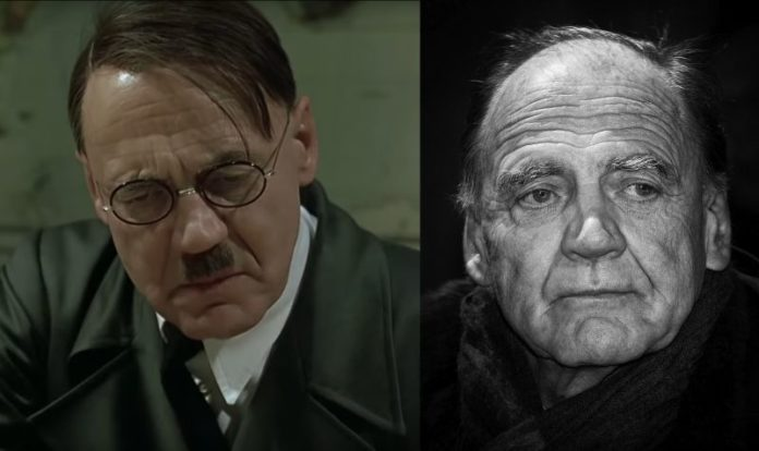 Downfall Adolf Hitler actor Bruno Ganz died age 77