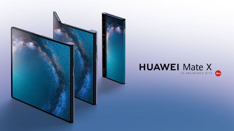 HUAWEI Mate X Three Different View