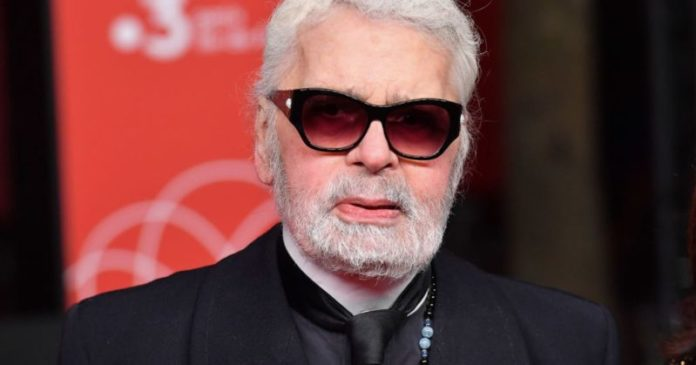 Karl Lagerfeld icon of the fashion industry died at 85