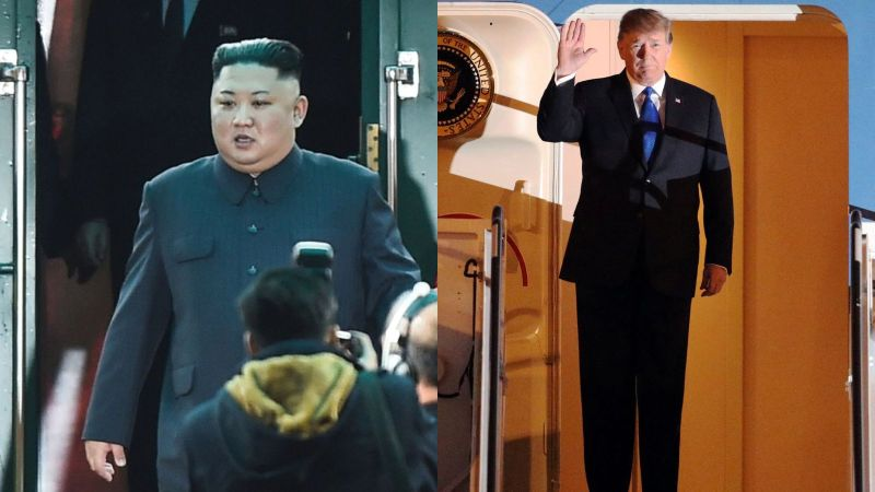 Kim Jong Un and Donald Trump arrive in Vietnam for Trump Kim Summit 2019