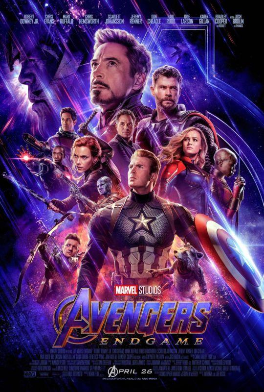 Marvel Studios Avengers Endgame latest poster