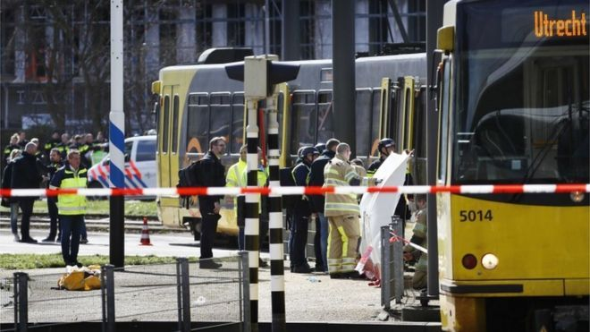 One dead and several wounded in Utrecht shooting