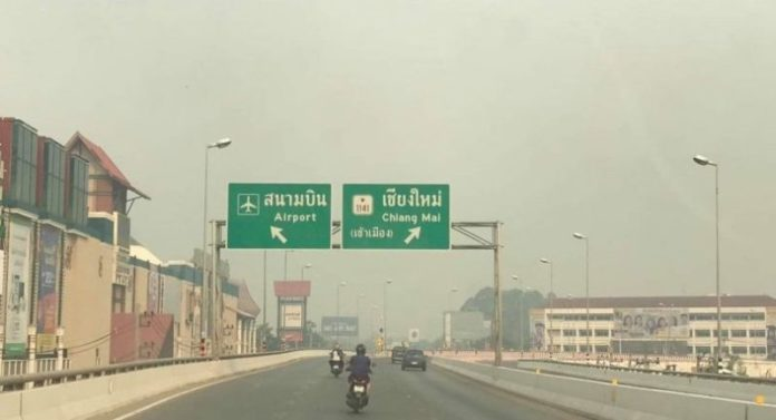 Thailand air pollution hits disastrous levels | PM2.5 higher than 700 µg/m³