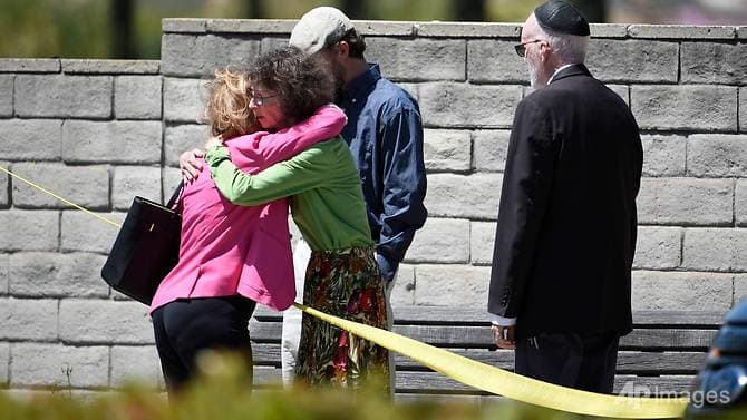 US San Diego Synagogue shooting, one dead and three wounded