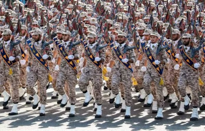 US officially designated IRGC a terrorist organization