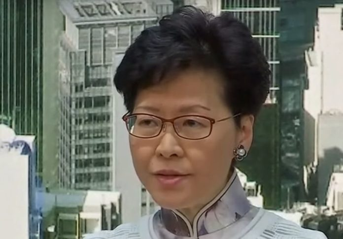 China won't let Hong Kong Leader Carrie Lam step down
