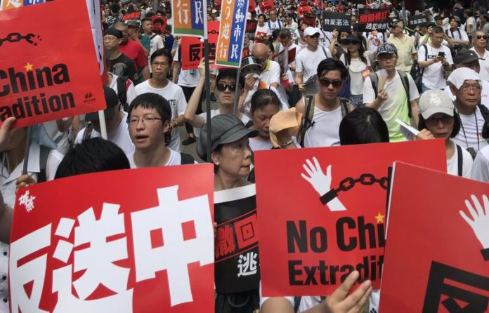 More than million in Hong Kong protest against extradition law